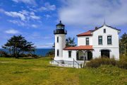 Admiralty Head Lighthouse on a small group day tour to Whidbey Island from Seattle
